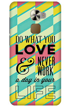LeTV Le Pro 3 Do What You Love Mobile Cover