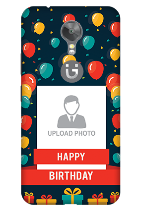 3D - Gionee A1 Happy Birthday Mobile Cover