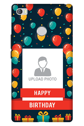 3D - Xiaomi Mi Max Happy Birthday Mobile Cover