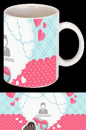 Awesome Valentine's Day White Coffee Mug