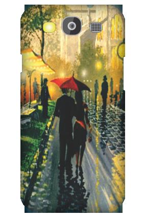 Customized Samsung Galaxy S3 Neo Romantic Walk Mobile Cover