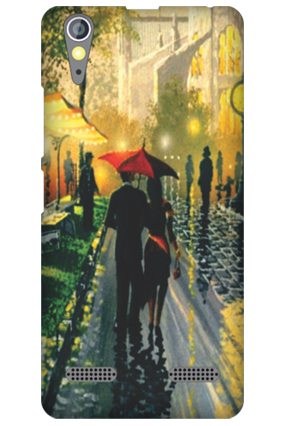 Lenovo A6000 Romantic Walk Mobile Cover
