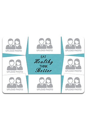 Custom Healthy Table Mat