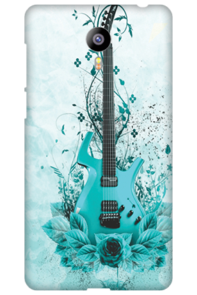 Meizu M2 Blue Guitar Mobile Cover
