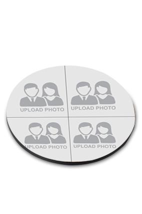 Upload Your Photo Round Printed Coaster