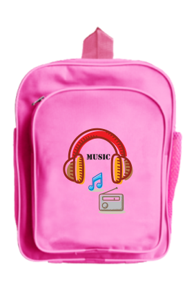 Music Buzz School Bag