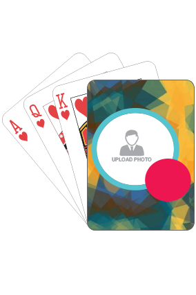 Personalised Abstract Playing Card