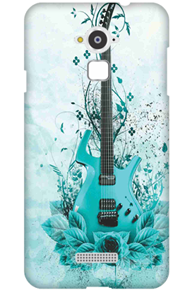 Silicon - Coolpad Note 3 Blue Guitar Mobile Cover