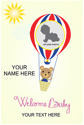 Welcome Baby Shower Poster