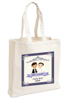 Personalised Mrs. & Mr. Tote Bag