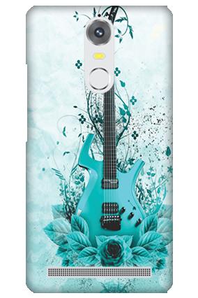 Lenovo K5 Note Blue Guitar Mobile Cover