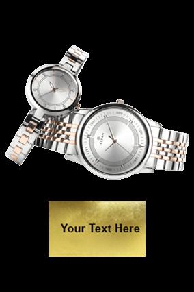 Titan Bimetal Rosegold P3H Wrist Watch