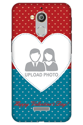 3D - Coolpad Note 5 Colorful Heart Valentine's Day Mobile Cover