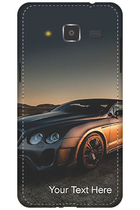 3D - Samsung Galaxy J2 Luxury Car Mobile Cover