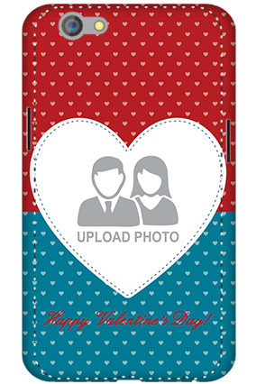 3D - Oppo F1S Colorful Heart Valentine's Day Mobile Cover