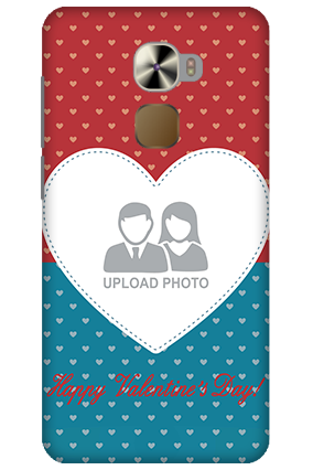LeTV Le Pro 3 Colorful Heart Valentine's Day Mobile Cover