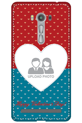 3D - Asus Zenfone 2 Laser ZE550KL Colorful Heart Valentine's Day Mobile Cover