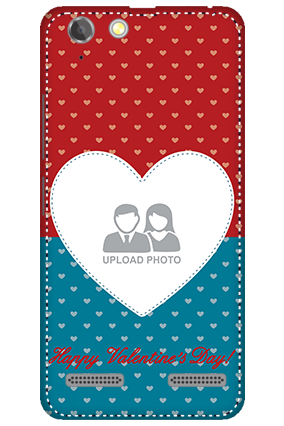 3D - Lenovo Vibe K5 Plus Colorful Heart Valentine's Day Mobile Cover