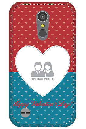 3D - LG K10 (2017) Colorful Heart Valentine's Day Mobile Cover