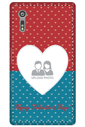 3D - Sony Xperia XZ Colorful Heart Valentine's Day Mobile Cover