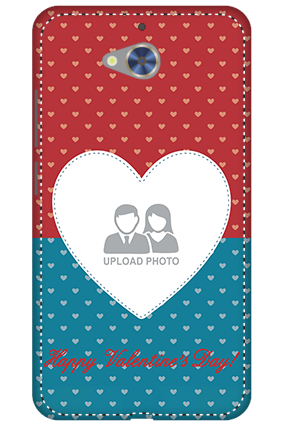 3D - Gionee S6 Pro Colorful Heart Valentine's Day Mobile Cover