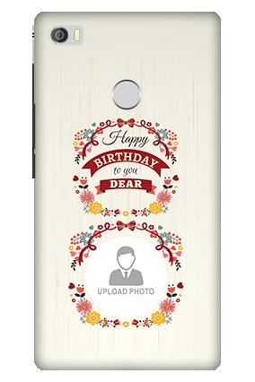 3D - Xiaomi Mi Max Birthday Wishes For Dear Mobile Cover
