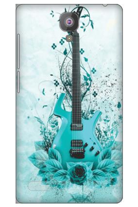 Xiaomi Redmi Note 4G Blue Guitar Mobile Cover