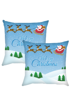 Christmas Wao Cushion Cover