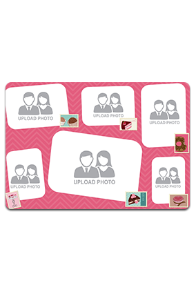 Personalised Photo Collage Table Mat