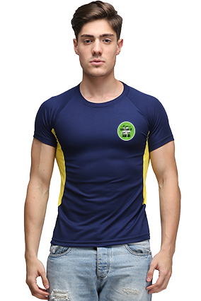 Effit Dream It Navy and Yellow T-Shirt