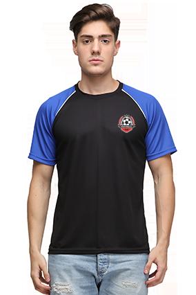 Effit Champion Black And Royal T-Shirt