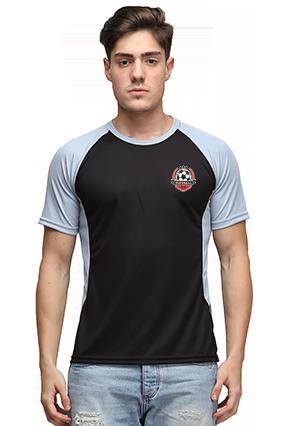 Effit Champion Black And Grey T-Shirt