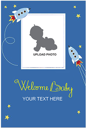 Cloud Baby Shower Poster