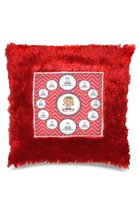 Design Square Fur Cushion