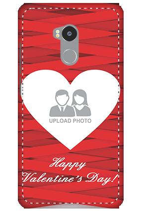 3D - Redmi 4 Prime Big Heart Valentine's Day Mobile Cover
