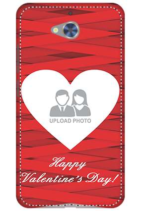 3D - Gionee S6 Pro Big Heart Valentine's Day Mobile Cover