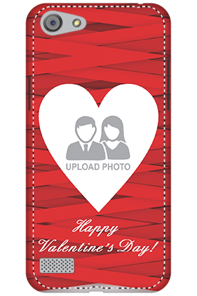 3D - Oppo A33  Big Heart Valentine's Day Mobile Cover