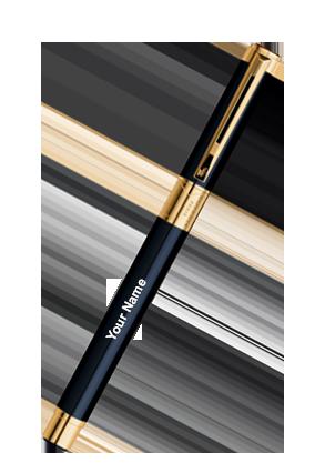 Waterman Perspective Black Gt Roller Ball Pen