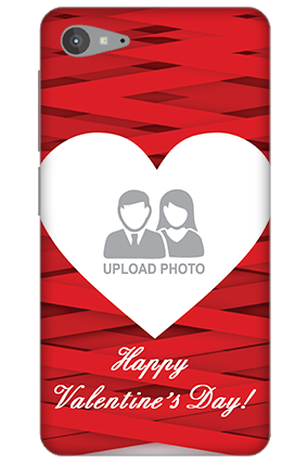 Personalized Lenovo Z2 Plus Big Heart Valentine's Day Mobile Cover