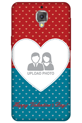 3D - OnePlus 3T Colorful Heart Valentine's Day Mobile Cover