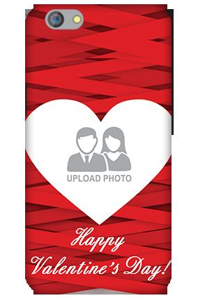 Silicon - OPPO F1s Big Heart Valentine's Day Mobile Cover