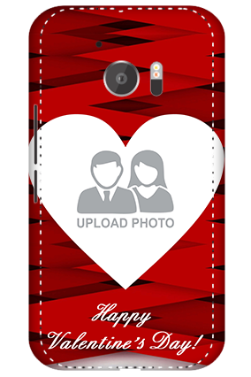 3D - HTC M10 Big Heart Valentine's Day Mobile Cover