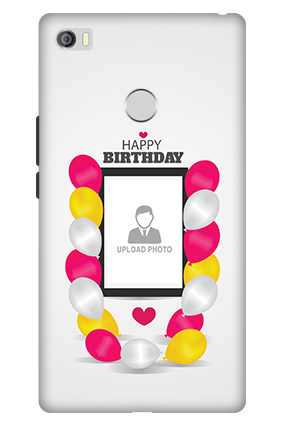 3D - Xiaomi Mi Max Birthday Balloons Mobile Cover