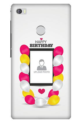 3D - Xiaomi Mi Max Birthday Balloons Mobile Cover