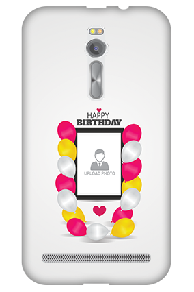 3D - Asus ZenFone 2 Birthday Balloons Mobile Cover
