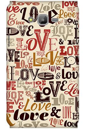 3D-Samsung Galaxy J7 Designer Love Mobile Cover