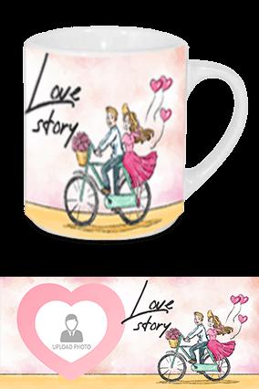 Love Story Tea Mug