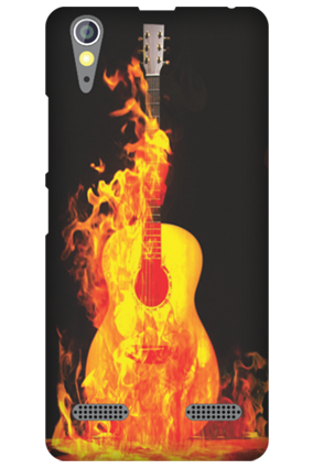 Customized Lenovo A6000 Fired Guitar Mobile Cover