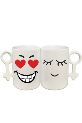 Smitten Couple Coffee Mugs