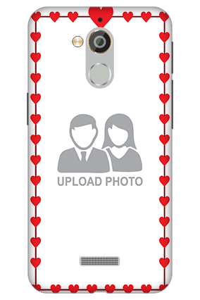 3D - Coolpad Note 5 Heart Valentine's Day Mobile Cover